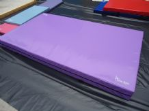 "8FT x 4FT 6"" x 10"" THICK (610gsm) Safety Matress Crash Mat (PURPLE)"